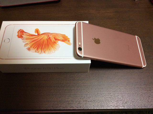 iphone6s plus RoseGold